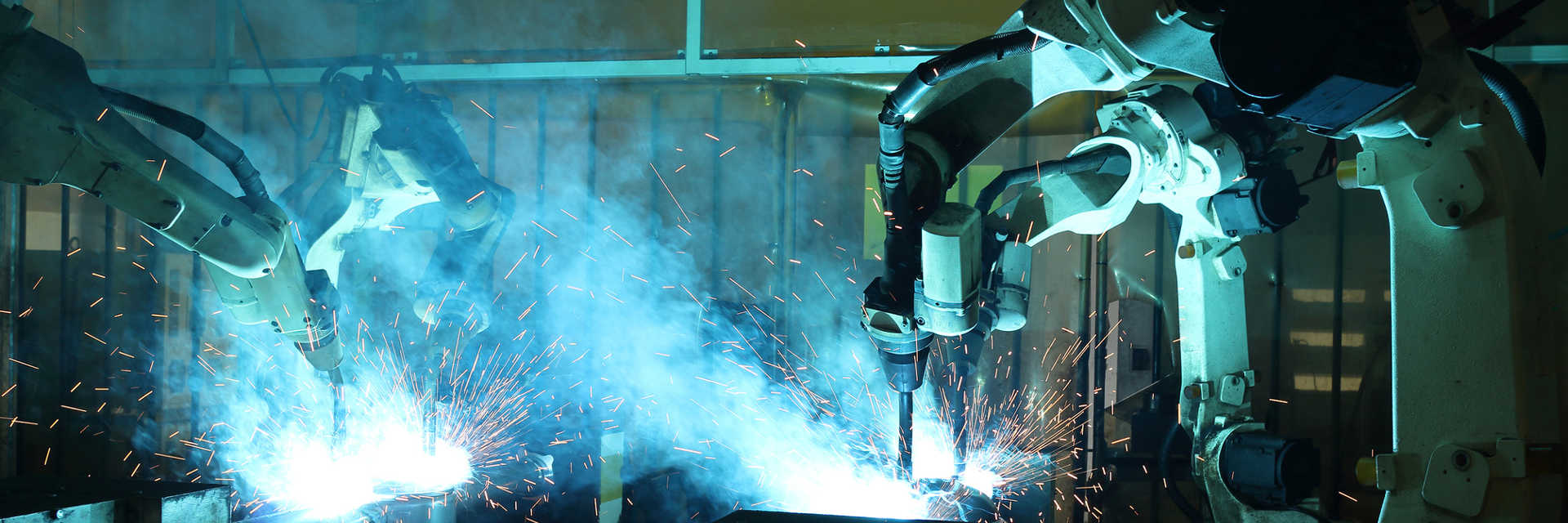 saldatura automatizzata mediante robot